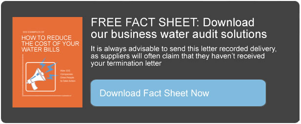 business water fact sheet Business Water Audit