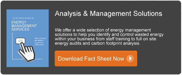 energy management fact sheet Analysis & Management