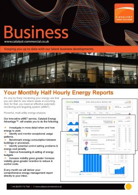 Half Hourly Electricity Reports