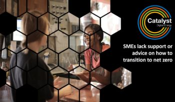 NetZero - SMEs lack support or advice on how to transition to net zero